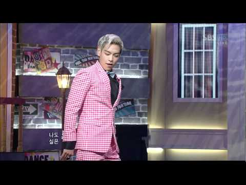 GD.TOP_0130_SBS Popular Music_ 집에 가지마(Don't Leave) Music Videos