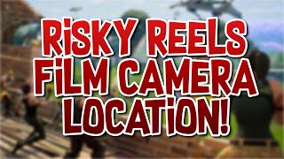 Fortnite Risky Reels film camera location!!