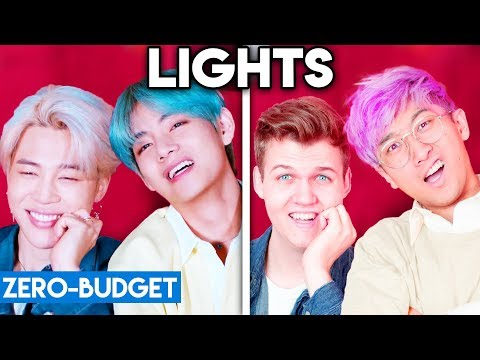 K-POP WITH ZERO BUDGET! (BTS - Lights)
