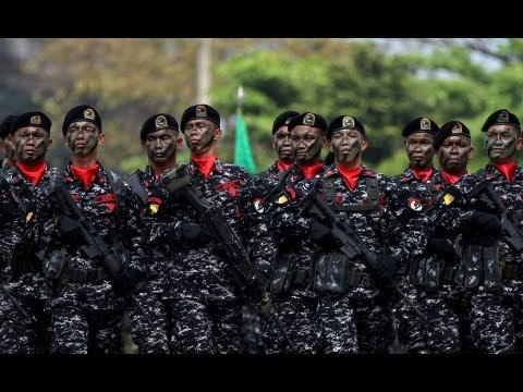 Armed Forces of The Philippines show of force 2013