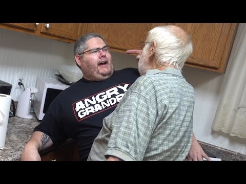 ANGRY GRANDPA CAN'T COOK!! (PRANK)