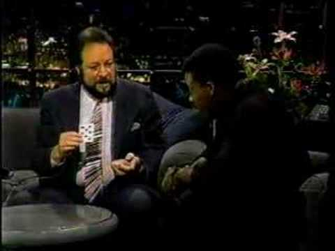 Magician Ricky Jay on Arsenio in 1988