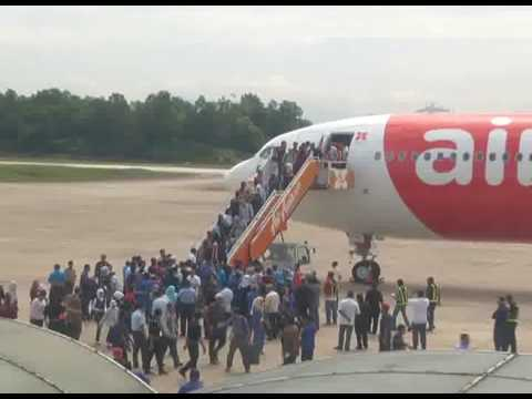 Latest batch of 68 Syrian migrants arrive in Malaysia