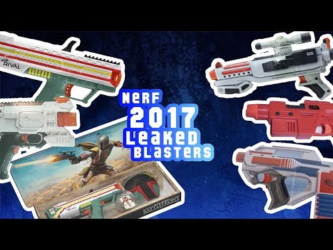 Nerf GameStop Exclusive & Leaked Blasters 2017 July