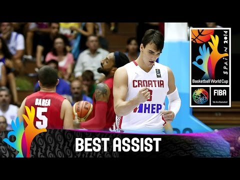 Croatia v Puerto Rico - Best Assist - 2014 FIBA Basketball World Cup