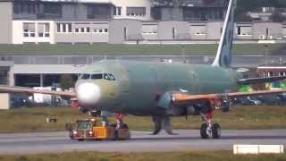 Airbus A321 NEO ohne Triebwerke-Finkenwerder-Airbus Werk-Airbus Group-new engine option-sharklets