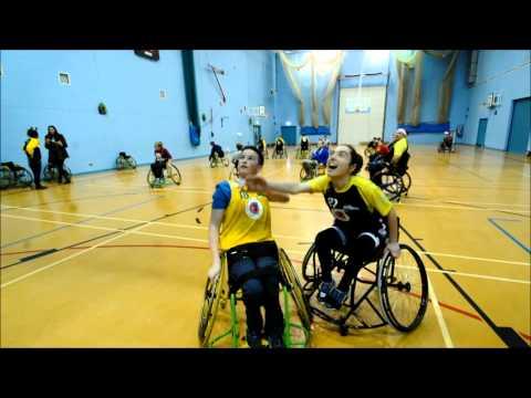 Norwich Lowriders Wheelchair Basketball Club.