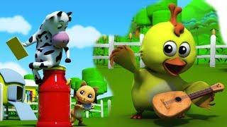 Động vật Âm thanh Sông | Vườn trẻ thơ vần | Bài hát động vật | Animals For Kids | Animals Sound Song