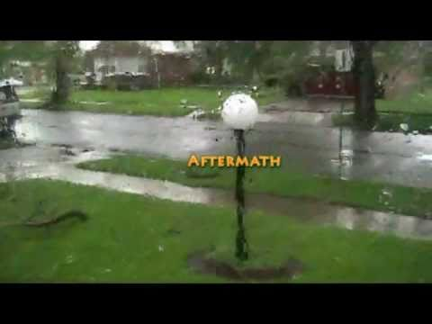 Detroit Storms 5-23-11 + Midland ER102 Emergency Radio