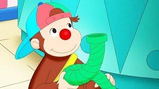 Curious George 🐵Curious George Clowns Around 🐵Kids Cartoon 🐵 Kids Movies 🐵Videos for Kids