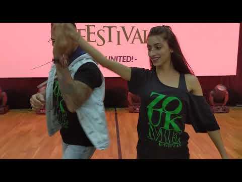 WZF2019: Bea & Renato in Saturday class demo ~ Zouk Soul