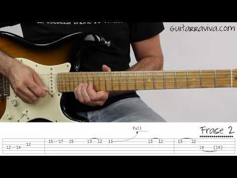Solos de Guitarra Knocking On Heavens Door Guitarra Como hacer punteos ...