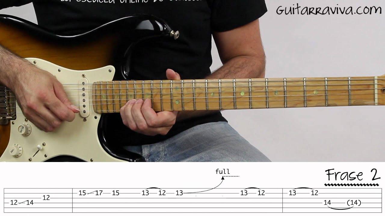 Como Tocar El Solo De Knocking On Heavens Door Guitarra