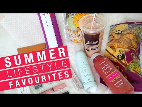 SUMMER FAVOURITES: Lifestyle + beauty + food + drink + more!