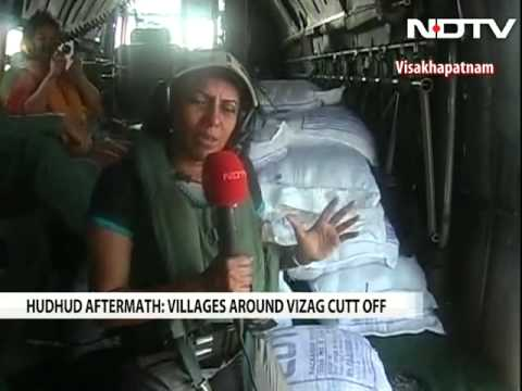 Navy reaches out to those stranded in cyclone-hit Visakhapatnam