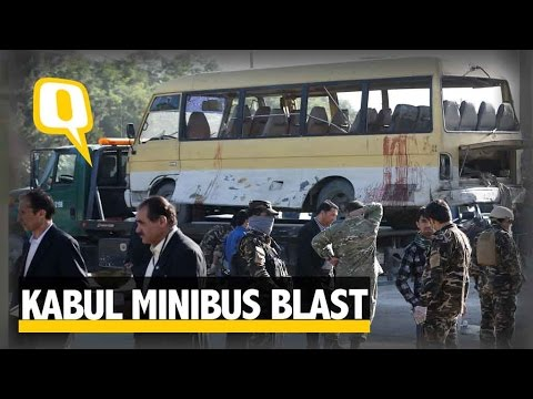 The Quint: Taliban Suicide Bomber Targets Minibus In Kabul, Kills 14