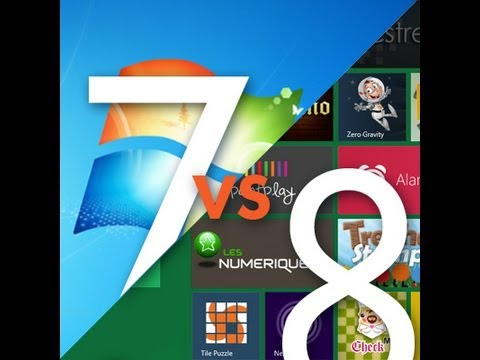 Windows 8 vs Windows 7 Ultimate Performance Benchmarks Review & Test