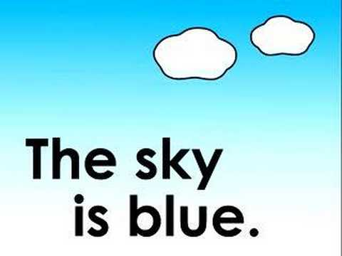 What Color is the Sky? children's song&#12288;&#31354;&#12399;&#20309;&#33394;&#65311;&#12398;&#12358;&#12383;