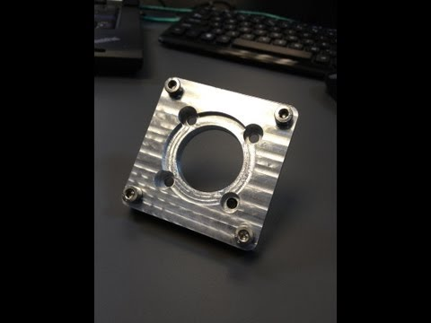 Homemade DIY CNC - From Start To Finish - Motor Mount Part 4 - Neo7CNC.com