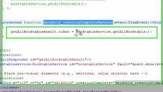 Flash Builder Tutorial DataBase