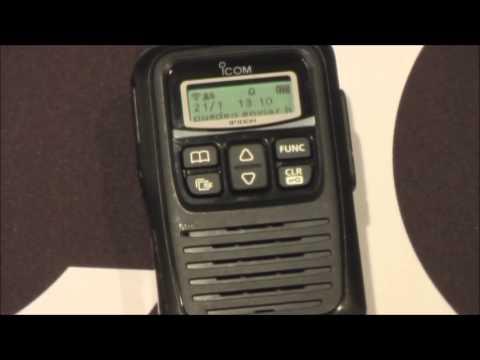 Funcionamiento de la radio IP100H del sistema de radio avanzado por IP