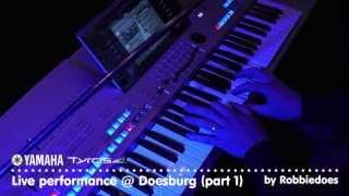 Tyros 4: Live optreden @ Doesburg 2012 (part 1)
