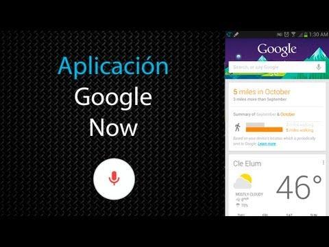 [Aplicación] Google Now en Español