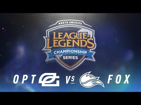 OPT vs. FOX - Week 7 Day 2 | NA LCS Spring Split | OpTic Gaming vs. Echo Fox (2018)