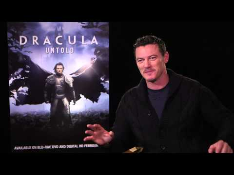Luke Evans Interview - Dracula Untold: A Tour through Dracula's real-world locations (HD) 2015