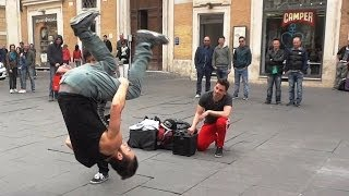 Hip Hop Street Dance - Acrobatic Music Dancers