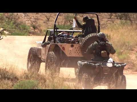 Border Patrol Rescue Drill - Sasabe, Arizona