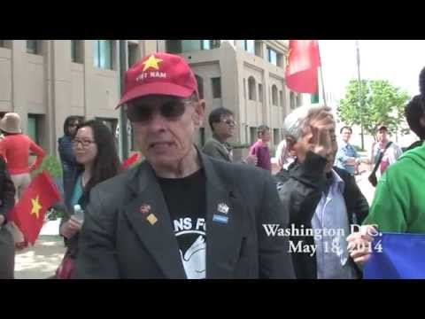 Large Vietnamese Protest in Washington DC over China Oil Rig.