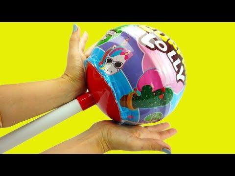 Огромный сюрприз с игрушками. Детский канал Игрушкин ТВ