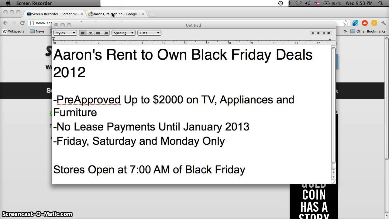 Aarons Rent to Own Fir...