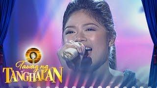 Tawag Ng Tanghalan: Mary Gidget Dela Llana | Let It Go (Round 3 Semifinals)