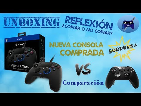 UNBOXING NACON REVOLUTION 2 + Comparación con ELITE ¿Es una copia? + NUEVA consola SORPRESA