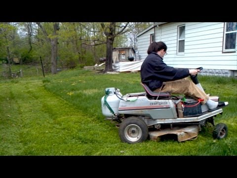 DIY: Propane Lawn Mower Conversion