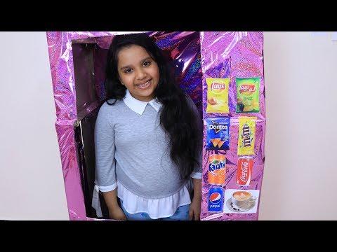 شفا تبيع في ماكينة الحلويات !!
