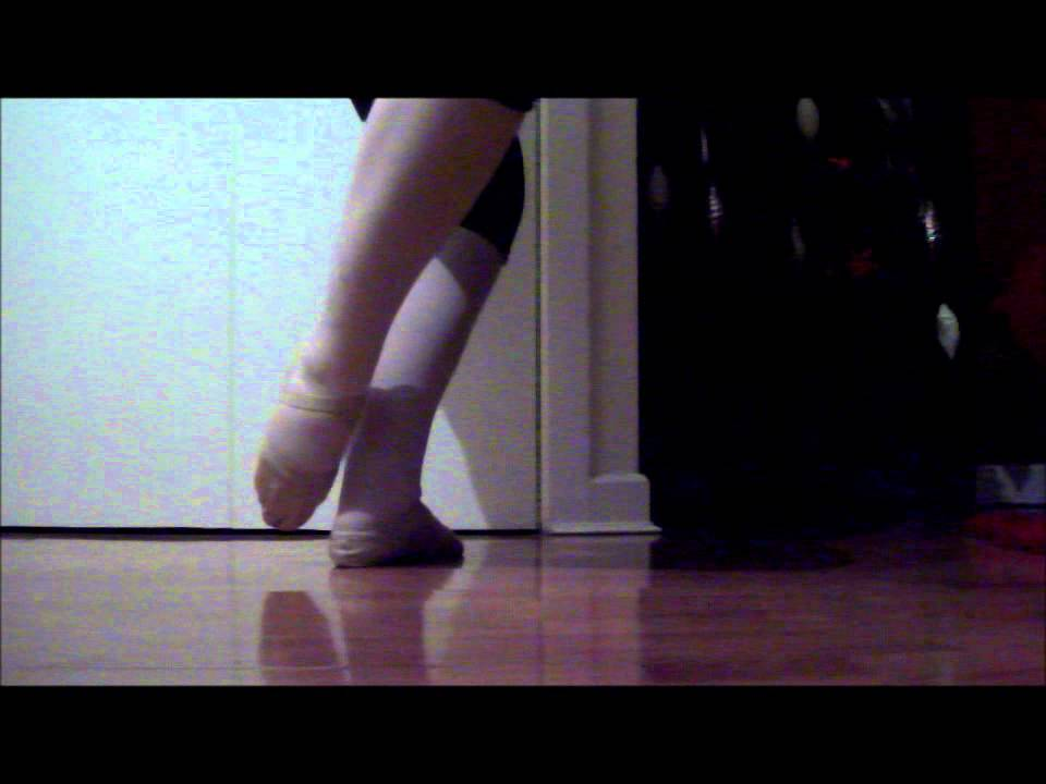 basic ballet footwork - YouTube