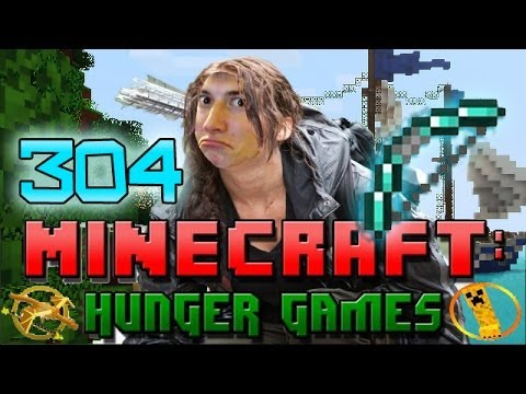 Minecraft: Hunger Games w/Mitch! Game 304 - BOW SKILLS!