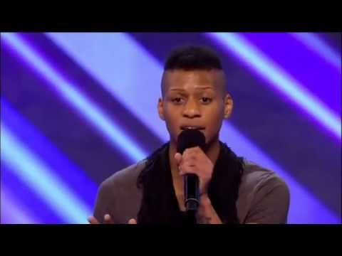 X factor - Lascel Wood - Use Somebody