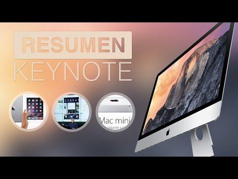 Resumen Keynote: iPad Air 2, iPad Mini 3, iMac 27