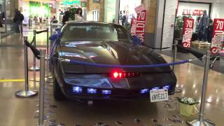 Knight Rider Car in a Shopping Center