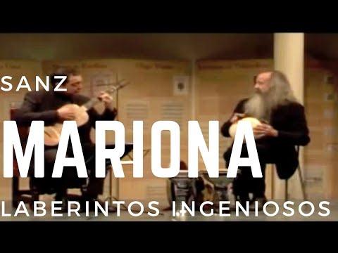 Marionas por la B, Gaspar Sanz, Xavier Díaz-Latorre baroque guitar and Pedro Estevan percussion