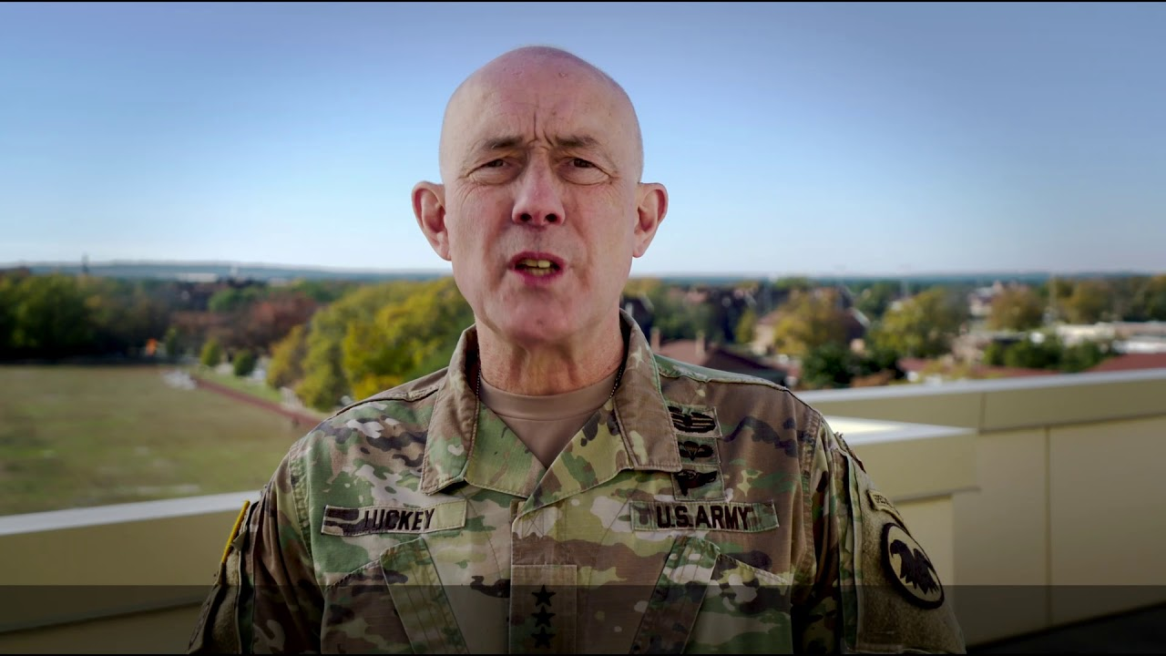 As we go into the holidays, @LTG_Luckey would like to remind #USArmyReserve Soldiers to take time to enjoy your Families & friends, while also keeping an eye on your battle buddies.
