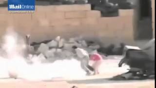 The incredible moment Syrian boy