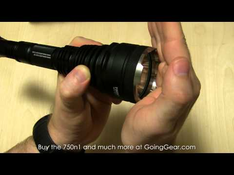 Niwalker 750n1 LED Flashlight Extended Review