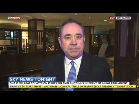 Alex Salmond Criticises Devolution Proposals