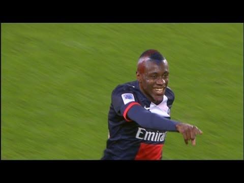 Beckham's assist and goal Blaise MATUIDI (31') - PSG - Stade Brestois 29 (3-1) / 2012-13