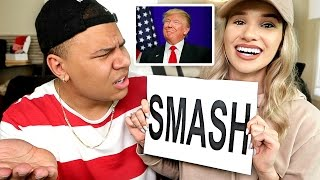 SMASH OR PASS!? (CELEBRITY EDITION) *SHE DUMPS ME*